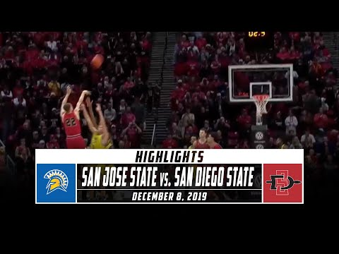 San Jose State vs. San Diego State Basketball Highlights (2019-20) | Stadium
