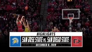 San Jose State vs. San Diego State Basketball Highlights (2019-20) | Stadium