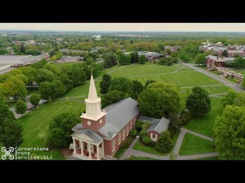 Bucknell University Aerial Drone Tour Lewisburg Pennsylvania