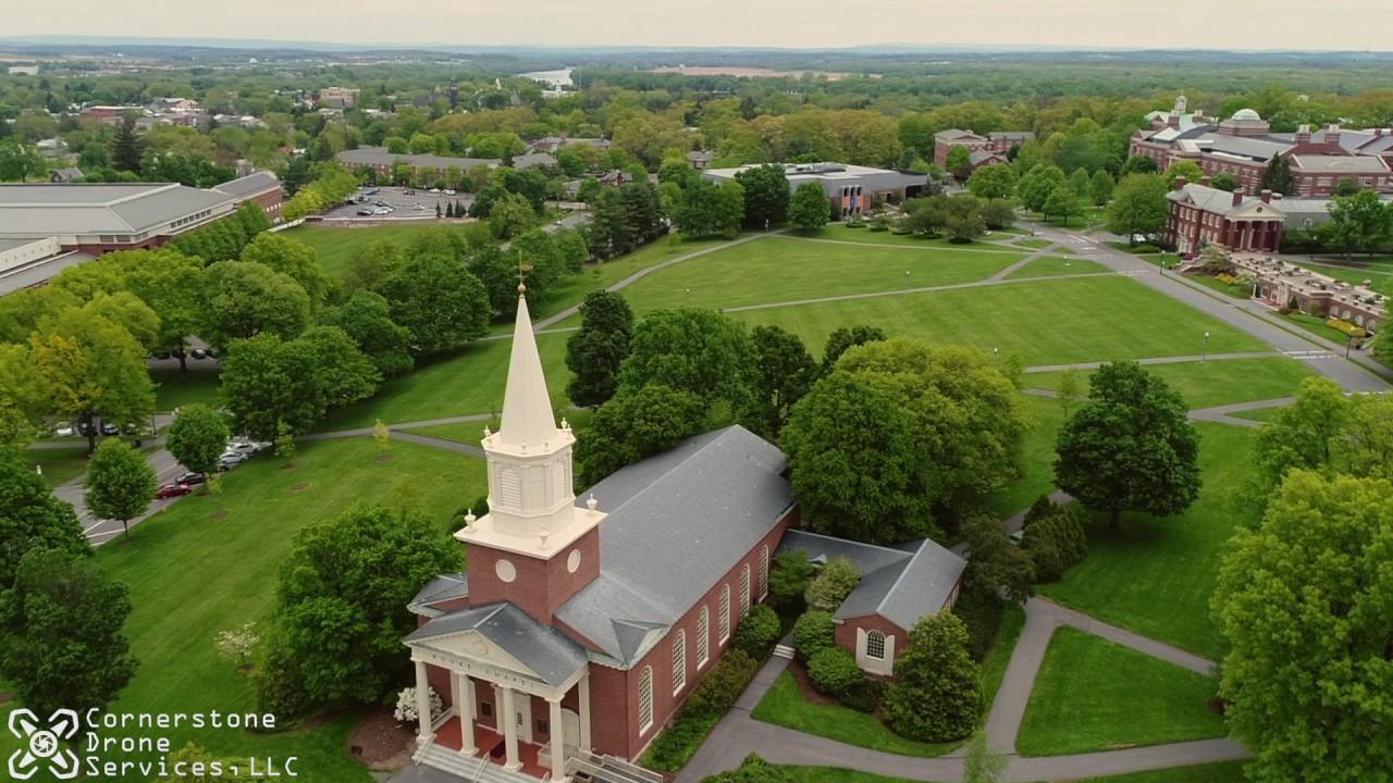 bucknell university aerial drone tour lewisburg pennsylvania youtube