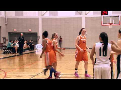 OCAA Women's Basketball Championship - Game 12 - Algonquin vs Mohawk 1_3_14