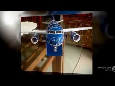 Papercraft Vietnam airlines paper model