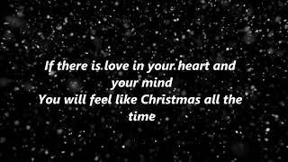 Faith Hill - Where Are You Christmas {Lyrics}