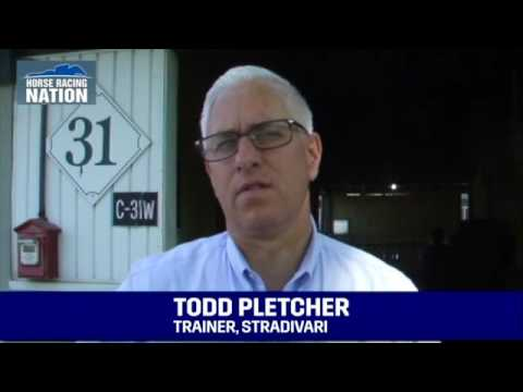 Preakness 2016 - Stradivari - Interview with Todd Pletcher