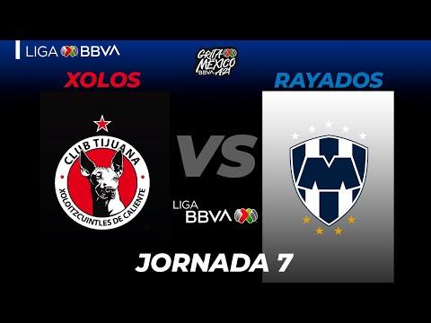 Club Tijuana Monterrey Goals And Highlights