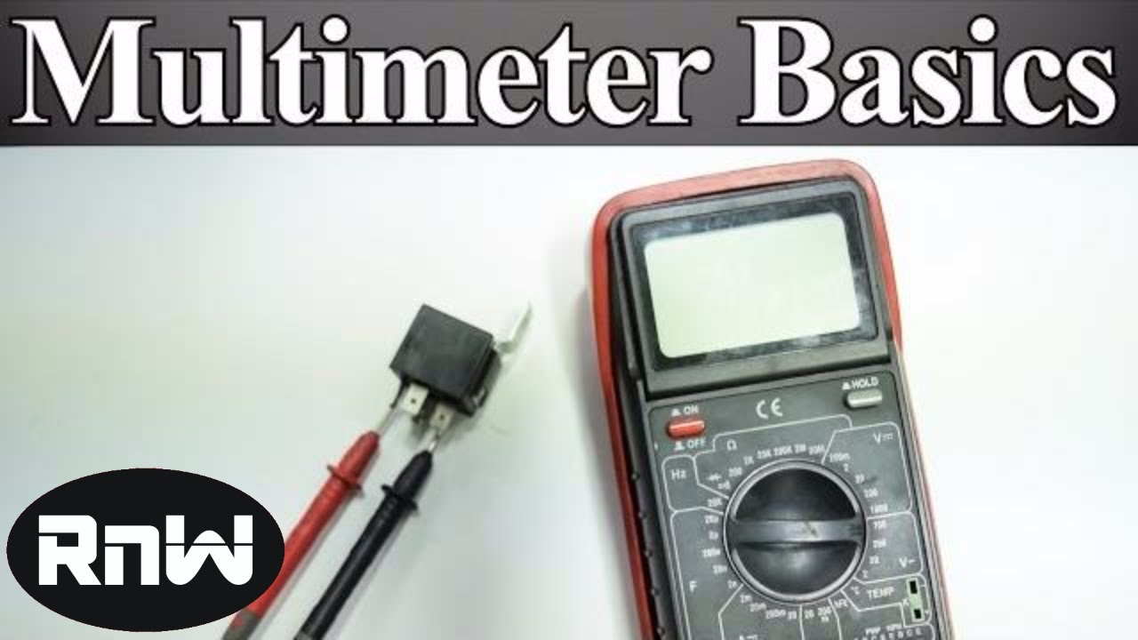 How To Use A Multimeter For Beginners Measure Voltage Resistance Continuity And Amps The Um245r Hardware Another Sample Circuit 12vdc Solenoid Driver Youtube