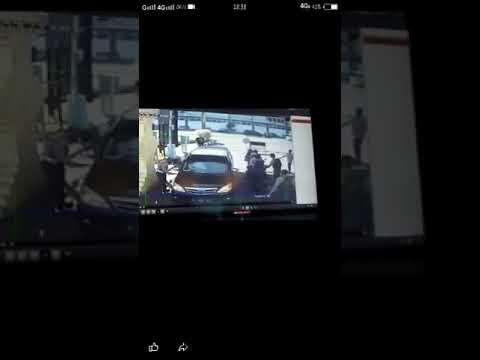 CCTV Detik-Detik Terjadi Ledakan BOM  Di Depan Gereja (Surabaya)
