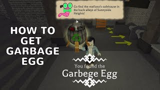 Roblox Egg Hunt 2018 - Hardboiled City: How to get Garbage Egg