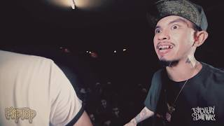 Repeat youtube video FlipTop - Loonie vs Tipsy D @ Isabuhay 2016 Semifinals