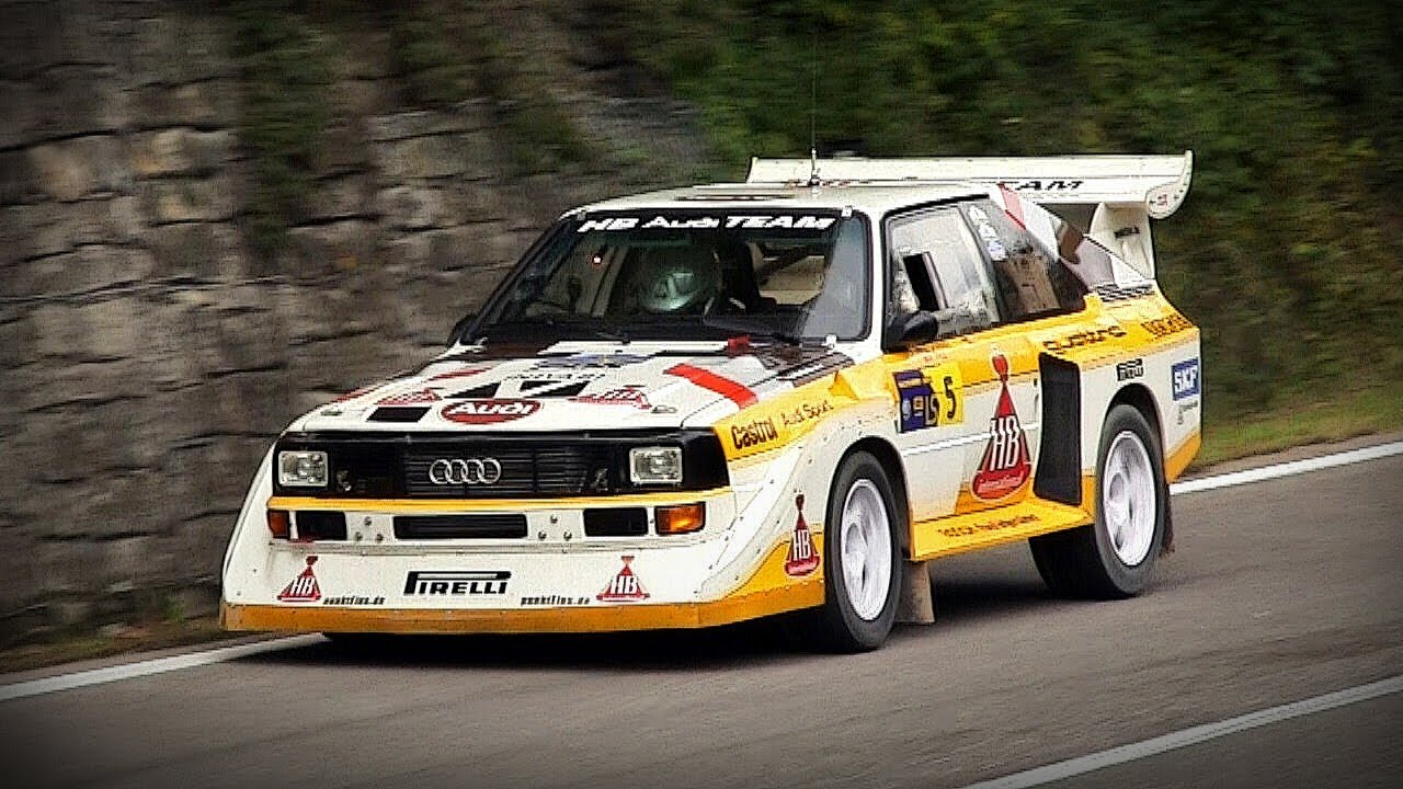 Audi Sport Quattro S1 Group B Sound Rally Legend 2013