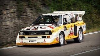 audi sport quattro s1 group b sound rally legend 2013
