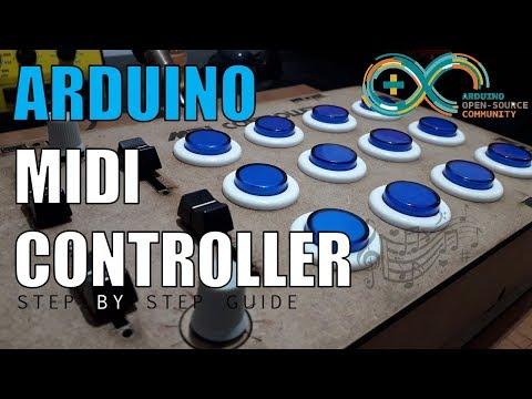 DIY Arduino MIDI controller (Best MIDI project)