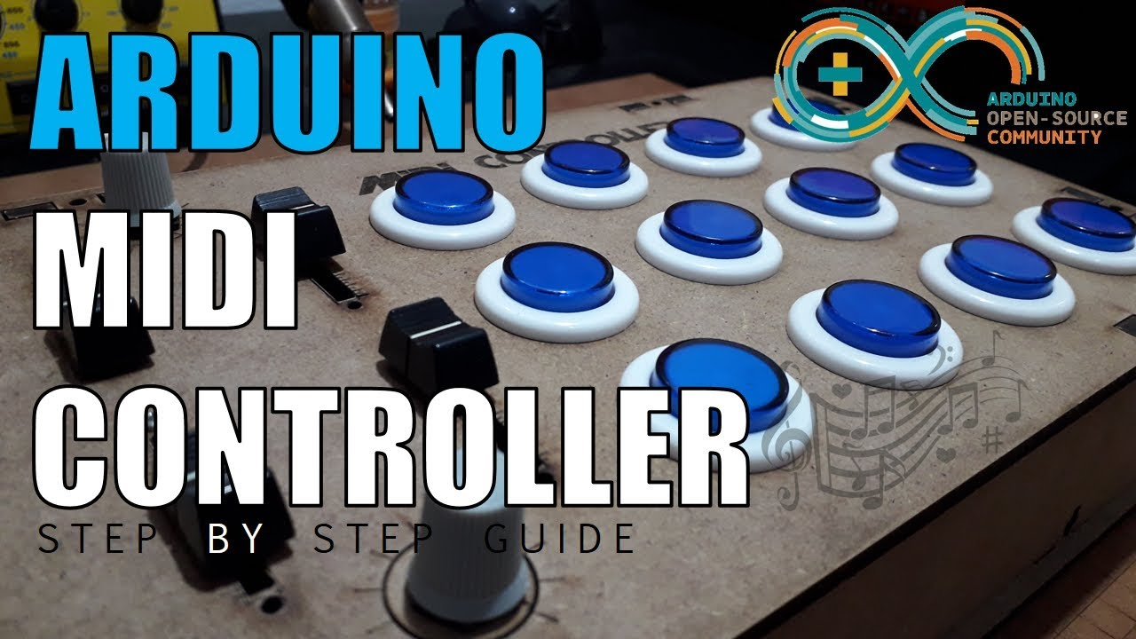 Make Your Own MIDI Controller With An Arduino | Hackaday