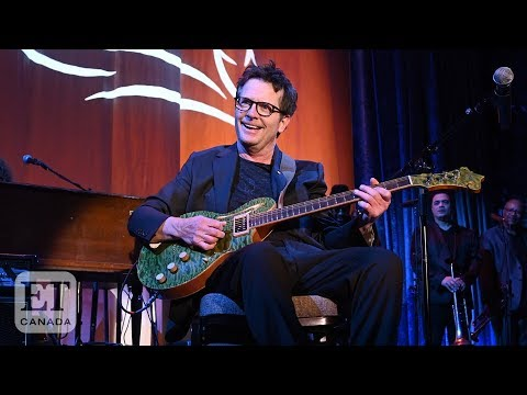 Michael J. Fox Performs With Sheryl Crow At Parkinson's Fundraiser