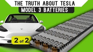 The Truth About Tesla Model 3 Batteries: Part 2 thumbnail