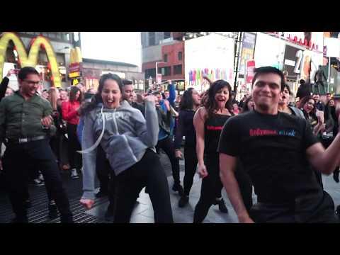 Flashmob| Times Square| Udi Udi Jaye| Tamma Tamma Again| Bollywood Funk NYC