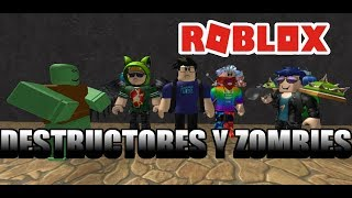 DESTROYERS & ZOMBIES SteveShido ? Roblox Doomspire Brickbattle and Zombie Attack