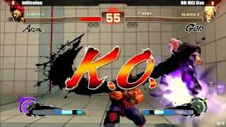 NCR 2013 SSF4 AE2012 Grand Finals - Infiltration Akuma) vs Xian (Gen)