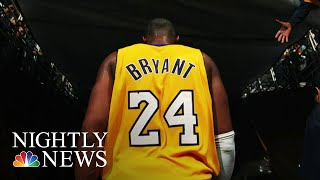 Fans And NBA Stars Pay Tribute To Kobe Bryant | NBC Nightly News