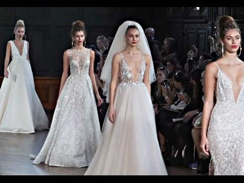 bb5fdbb11 BERTA | Full Show | Bridal Fashion Week | Spring/Summer 2018 - YouTube
