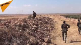 شاهد: هكذا الجيش السوري يعيد سيطرته على القرى في ريف حماة