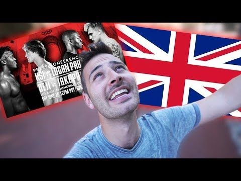 GOING TO LONDON (KSI vs Logan Paul Press Conference)