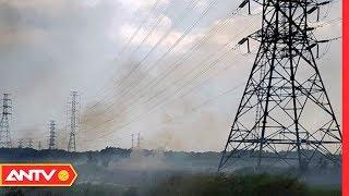Cháy nổ đe doạ an toàn hành lang lưới điện | An toàn sống | ANTV