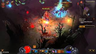 Diablo III Reaper of Souls - PC 60 FPS Witch Doctor Torment VI Gameplay