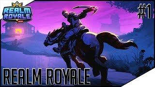 Realm Royale Highlights - FIRST IMPRESSION! THE NEW FORTNITE? ONLY DIE!