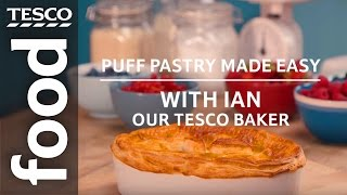 Puff Pastry Made Easy With Ian, Our Tesco Baker | Tesco Food