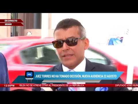 Culminó audiencia de extradición a Ricardo Martinelli