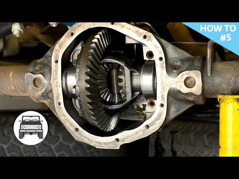 Dana 44 Carrier Removal & Cleaning Axle Tubes
