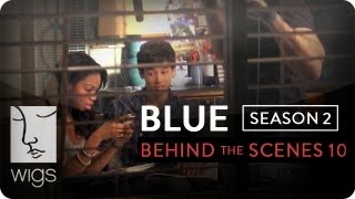 Blue | Season 2 -- Behind the Scenes: The Kiss | Feat. Uriah Shelton | WIGS