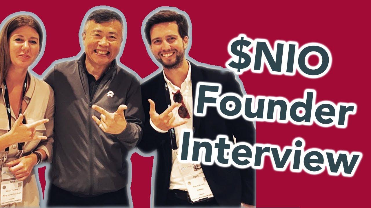 🧐 Lookback: NIO Co-Founder about NIO Stock price and its $NIO mission. 蔚来的未来