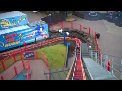 Sonic Spinball (On & Off Ride) At Alton Towers