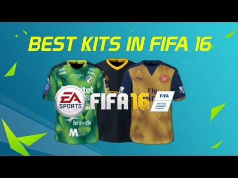 BEST FIFA 16 KITS 2015 2016 TOP 10 FOOTBALL JERSEYS - YouTube 2eb71e2ac