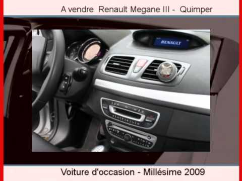 achat vente une renault megane iii quimper youtube. Black Bedroom Furniture Sets. Home Design Ideas