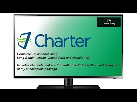 TV Channel Lineup: Charter Spectrum, Long Beach, WA