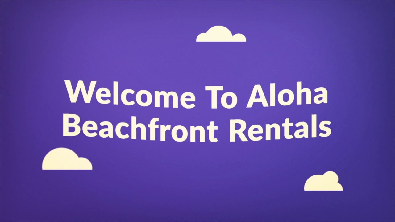 Aloha Beachfront Vacation Rentals in Oahu, HI