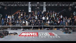 漫威影業10週年特別紀念,漫威超級英雄齊聚