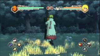 Ultimate Ninja Storm 2 Tobi Moveset
