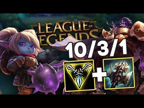 Классическая игра на Джаксе в золоте // League of Legends #2 thumbnail