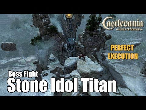 Stone Idol Titan Boss Fight - Perfect Execution - Castlevania : Lords of Shadow [1080p 60fps]