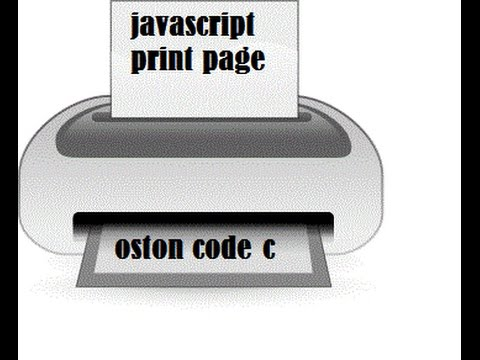 How To Print Webpage Content Using Javascript-Easy Tutorial