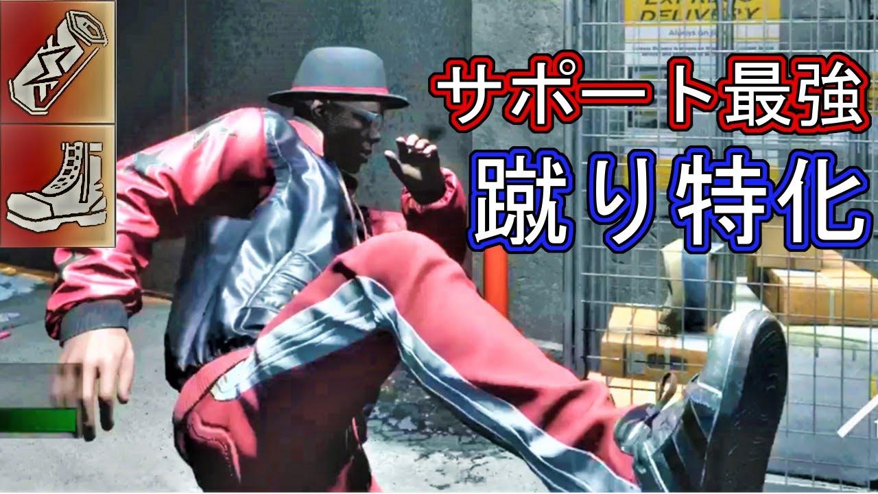 【バイオハザード レジスタンス】サポート最強キャラ 蹴り特化タイローン【サバイバー】