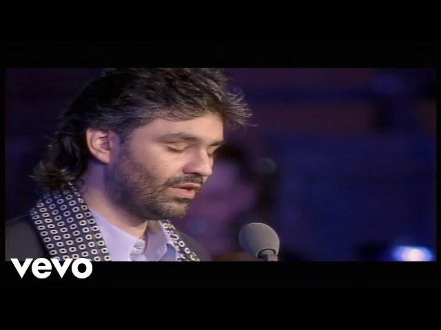 Andrea Bocelli - Con Te Partiro (Live From Piazza Dei Cavalieri, Italy / 1997)