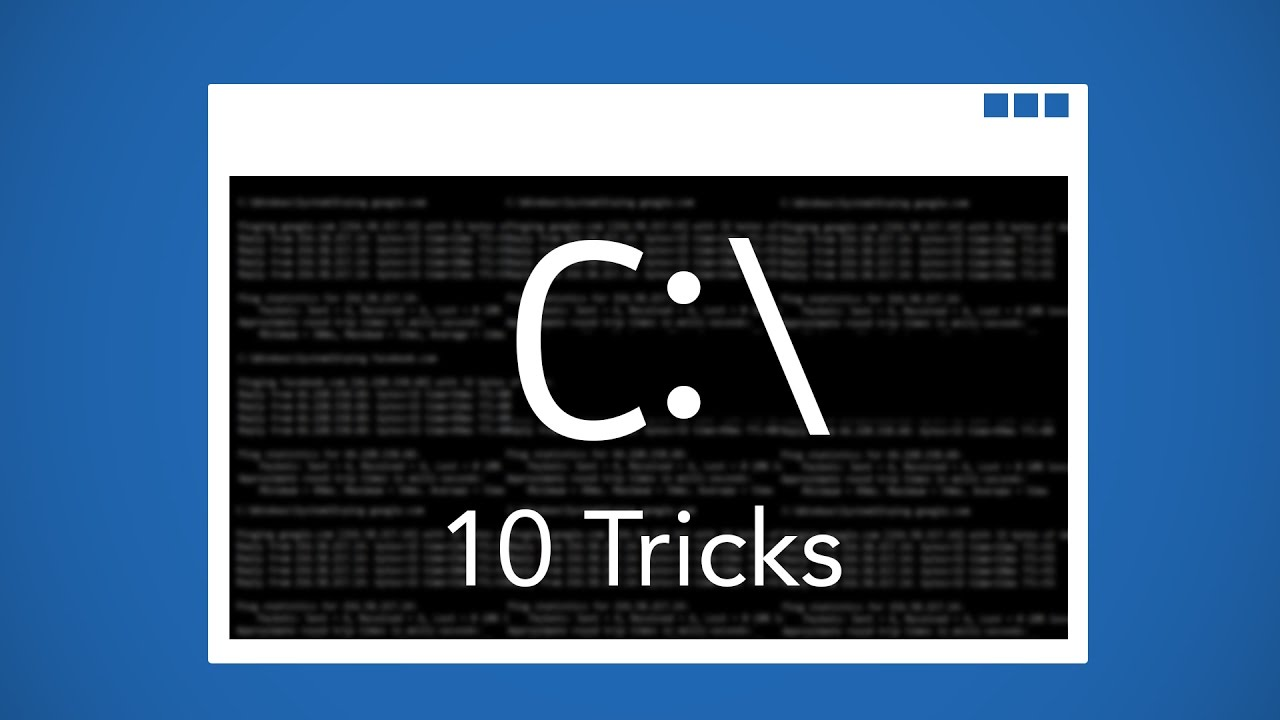 Command Prompt Tutorial for Beginners - Tips & Tricks ...