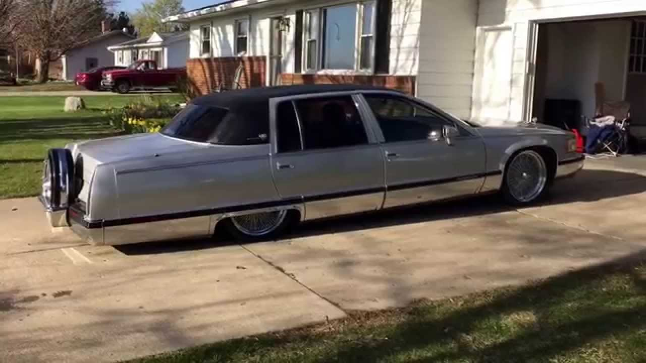 My 1993 Fleetwood Cadillac On Bags Youtube