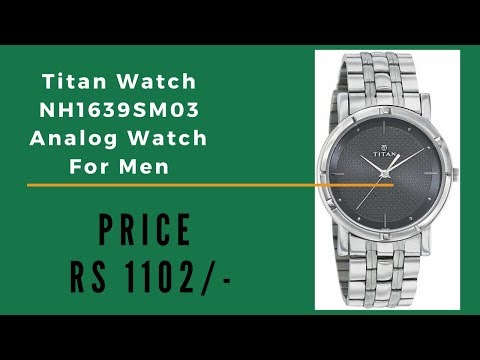 Titan Chain Watches For Men NH1639SM03 Analog Watch Low In Price Good Qulity And Low Price