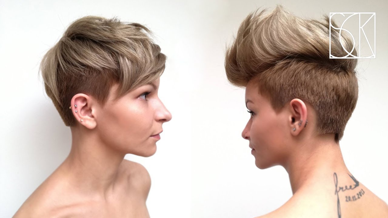 Pixie Haircut Tutorial By Barber Girl Youtube